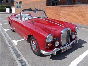 Large image for the Used Alvis TD21 DROPHEAD COUPE