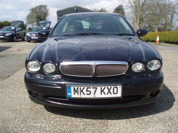 Used 2007 Jaguar X Type 2 0d Sport In Metallic Black For Sale In Colchester For 163 2 500