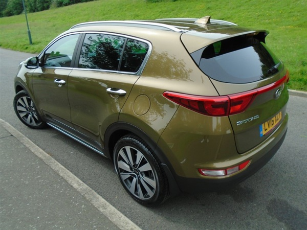 used 2016 kia sportage 1 7 crdi 3 isg in alchemy green for sale in