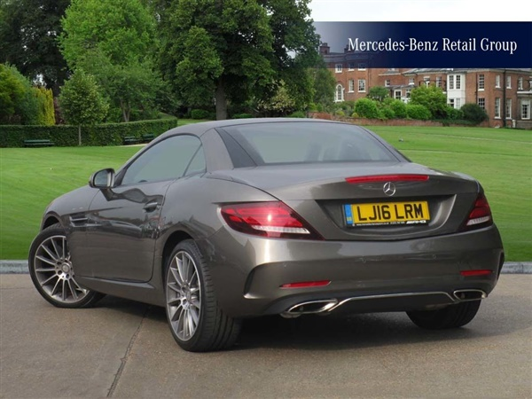 Used Mercedes Benz Slc Slc200 Amg Line Auto In Indium Grey