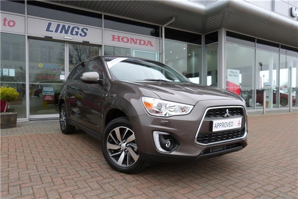 Used 2016 Mitsubishi Asx 5dr Est 1 8 3 2wd D In Granite Brown For Sale In Lowestoft For 163 16 499