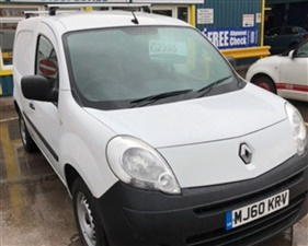 7a435fec9f Used Renault Kangoo ML19 DCI in WHITE - 2010 Renault Kangoo for sale ...