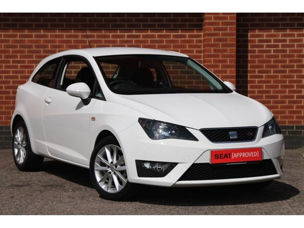 used 2013 seat ibiza 3 door sc 1 2 tsi fr in white for. Black Bedroom Furniture Sets. Home Design Ideas