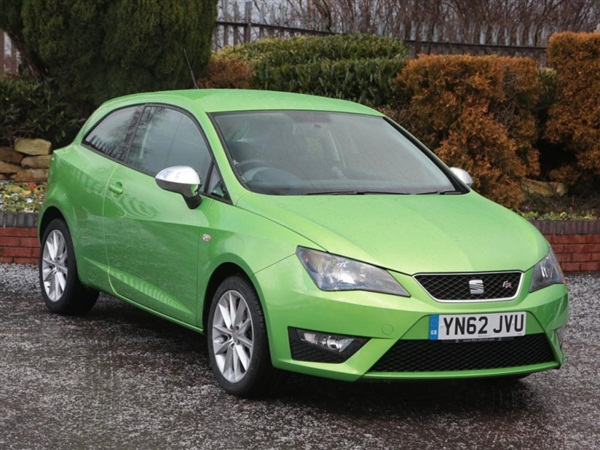used 2013 seat ibiza tsi fr in green for sale in rochdale for 8 495. Black Bedroom Furniture Sets. Home Design Ideas