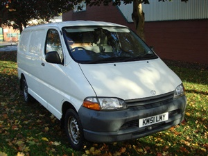 Large image for the Used Toyota Hiace