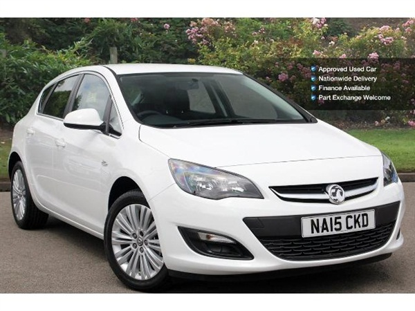 New vauxhall astra excite deals