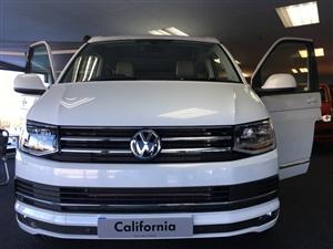 Used Volkswagen Campervan Vw California Ocean In White 2017