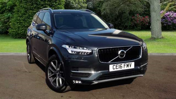 used 2016 volvo xc90 momentum in 492 savile grey for sale in cardiff